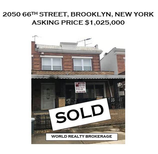 2050 66th Street Brooklyn Home Sold - brooklyn new york real estate brokerage