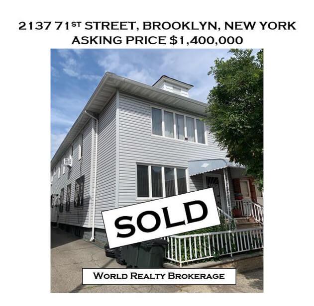 2137 71st Street Brooklyn Home Sold - brooklyn new york real estate brokerage