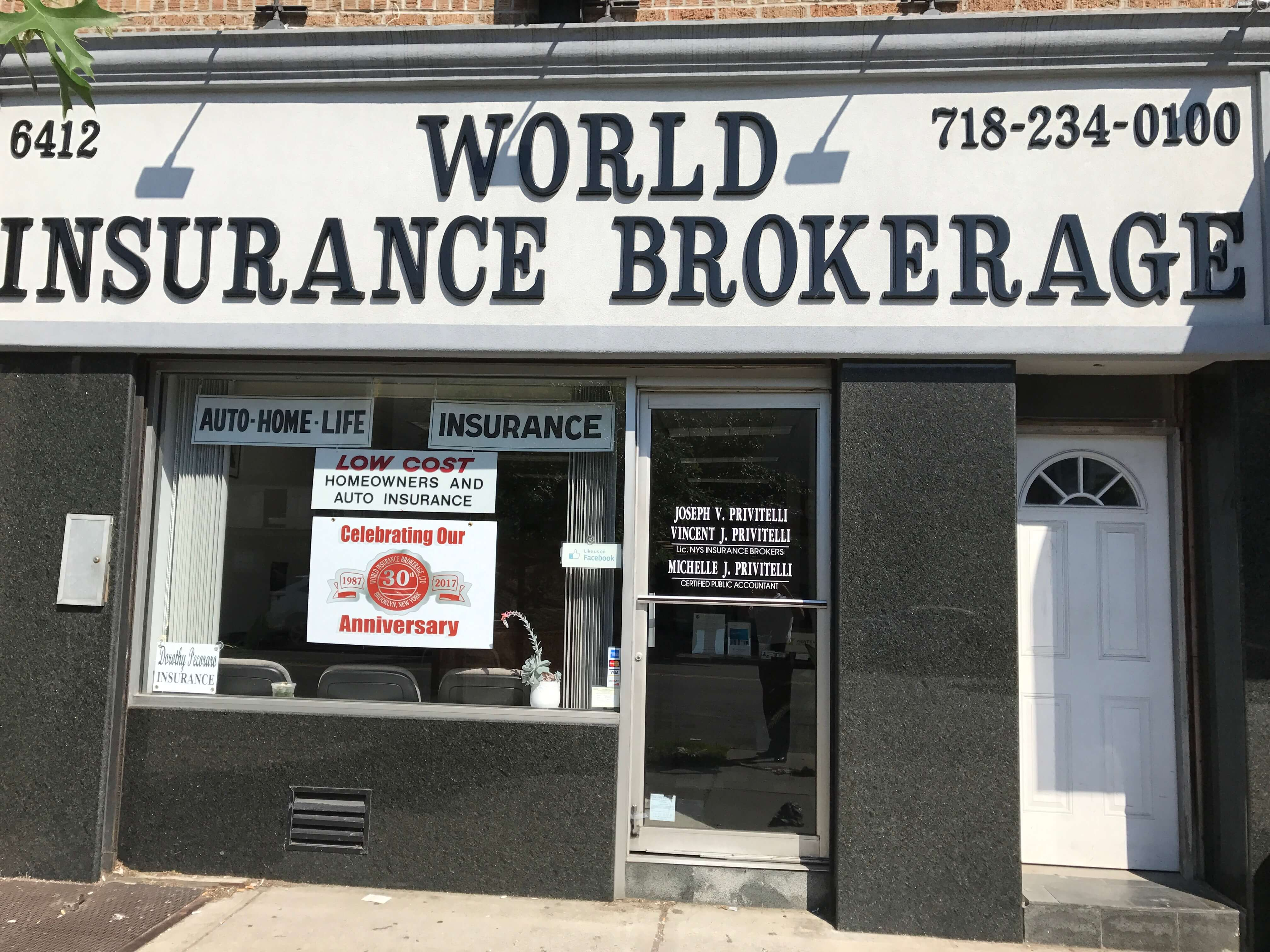 world insurance brokerage - property & casualty insurance brooklyn new york